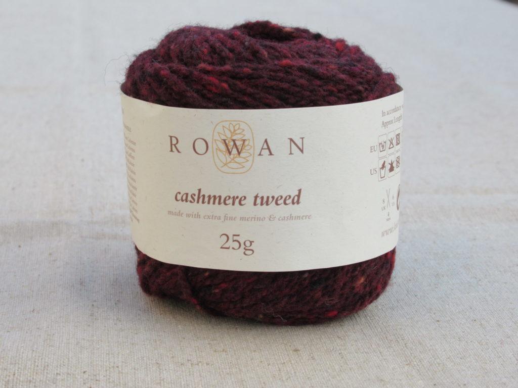 006 cashmere tweed Rowan Cashmere Tweed Andorra Red